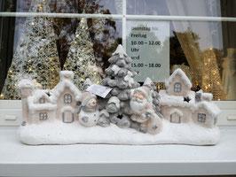 Winter/Weihnachtsdekoration für den Außenbereich mit LED-Licht - Winterdorf