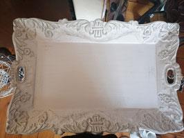 Holztablett 58 x 38 cm Shabby Chic