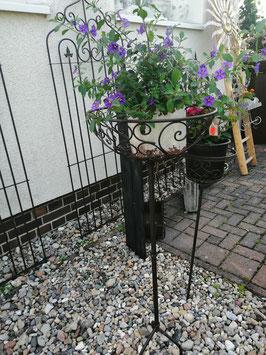 Gartenstecker Korb groß für den Außenbereich