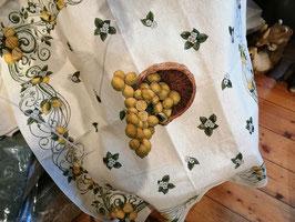 Mitteltischdecke 100 x 100 cm Zitronen