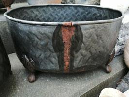 Metallpflanzgefäß mittlere Variante