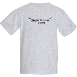 """Kindershirt """"Sejerlänner Jong"""" ,Größe 116, 128, 140, ( Bitte teile uns die entsprechende Größe unter Anmerkungen zur Bestellung mit"""