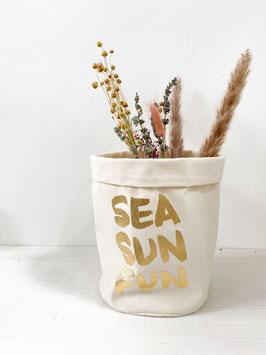 """Stoffkorb """"Sea Sun Fun"""""""