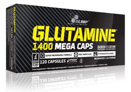 Glutamine 1400 Mega Caps (120) Olimp 120 Kapseln