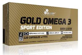 Gold Omega 3 Sport Edition Olimp 120 Kapseln