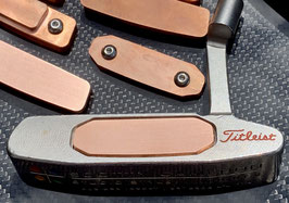 Preorder:  Shipping Nov 11th, Milled Smooth TeCu Insert for Titleist Scotty Cameron Newport Studio Style