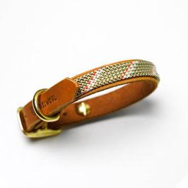 Leder x Kletterseil - Halsband verstellbar