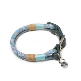 Halsband verstellbar mit Lederadapter
