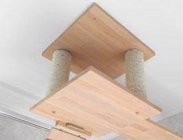 Deckenabhängung - Einzeln-  Nur die Mitte mit 40 x 40 cm/ oder 50 x 50 cm