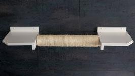 Schwebekratzsäule/ Schwebebalken, mit 50 cm Sisalstamm (lackiert)  Farbwunsch beim Kauf angeben