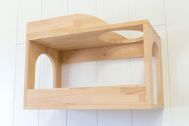 Geschlossener Doppel-Schlafkasten, Spielkasten