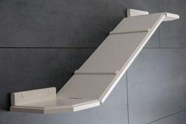 Wandparkelement, variable Winkel-Laufbrücke / Verschiedene Längen!   (lackiert) Farbwunsch bei der Kaufabwicklung mit angeben!