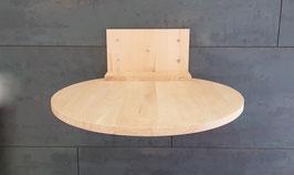 Wandparkelement, Teller Liegefläche  50 cm oder 60 cm Durchmesser