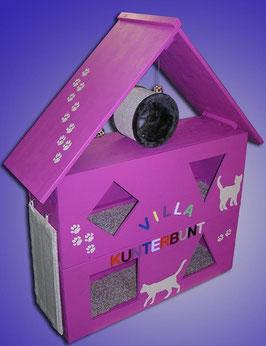 Katzenspielhaus/ Katzenspielhöhle, pink