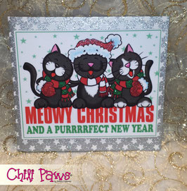 Purrrfect Christmas Blackies