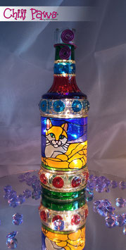 "Chili Paws lighted bottle ""Resting Cat"""