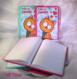 A5 CHILI PAWS Hardcover Notebook