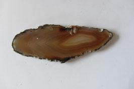 Achatscheibe braun 70 x 26  cm