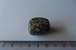 Jaspis - Turitella-Jaspis Trommelstein 26 x 22 mm