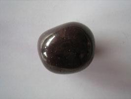 Rhodolit Trommelstein 23 x 18 mm