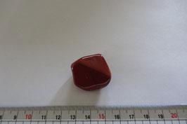 Jaspis rot Trommelstein 30 x 27 mm