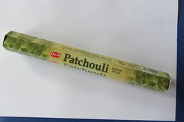Räucherstäbchen Patchuli Sechseck-Packung,  20 Stück/Packung HEM Corporation  Indien