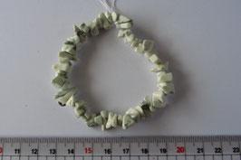 Mondstein Splitterarmband  elastisch  Stretchband 20 cm
