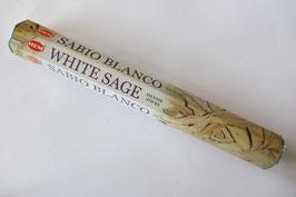 Räucherstäbchen Weißer Salbei Sechseck-Packung,  20 Stück/Packung HEM Corporation  Indien