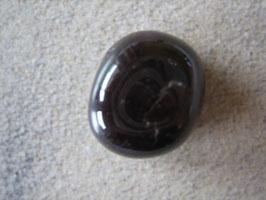 Rhodolith Trommelstein 18 x 16 mm