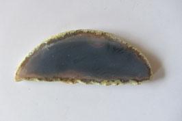 Achatscheibe blaugrau 67 x 26  cm