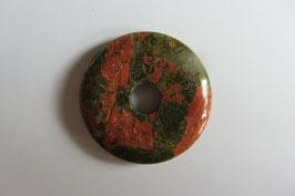Unakit/Epidot Donut 35 mm Durchmesser