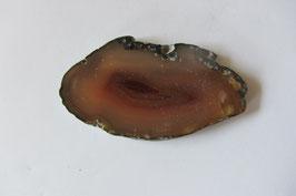 Achatscheibe braun 55 x 30  cm