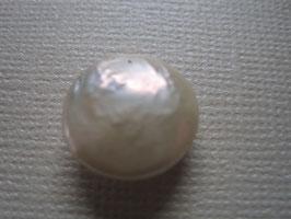 Perle Süßwasserperle 12 mm Durchmesser