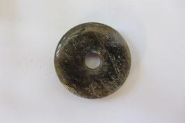 Labradorit Donut Anhänger 30 mm Durchmesser