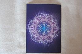 Energiesymbol Energiekarte Kosmische Kornkreis DNS Kartengröße 17 x 12 cm