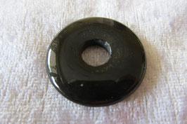 Onyx Donut Anhänger 30 mm Durchmesser
