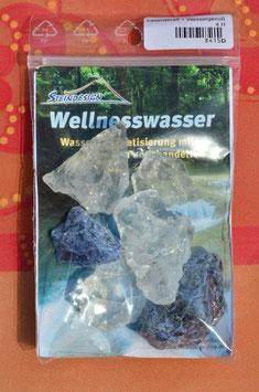 Wellnesswasser-Trinkmischung Sodalith, Bergkristall  8415D - Rohsteine
