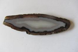 Achatscheibe grau 75 x 23  cm