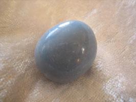 Angelit (Anhydrit) Trommelstein 23 x 20 mm
