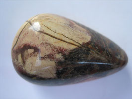 Zebrajaspis Trommelstein ca. 33 x 14 mm