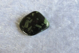Porphyrit/Runenstein Trommelstein 20 x 18 mm