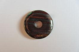 Tigereisen rötlich Donut 30 mm Durchmesser