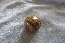 Aragonit braun gestreift Trommelstein 24 x 24 mm