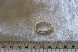Kettenverkürzer Clip silberfarbig 25 mm oval