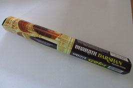 Räucherstäbchen Darshan Sechseck-Packung, ca. 18 Stück/Packung Asoka Trading Comp. India