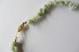 Aventurin Splitterkette 46 cm mit goldfarbigem Hakenverschluss