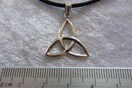 Silber Anhänger - Keltischer Knoten 20 x 20 mm