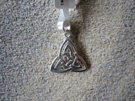 Keltischer Knoten Anhänger Dreiheit 13 x 13 mm