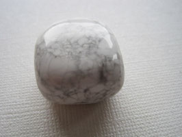 Howlith Trommelstein 25 x 22 mm