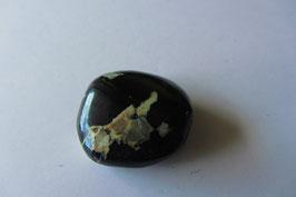 Covellin Trommelstein 27 x 26 mm - selten